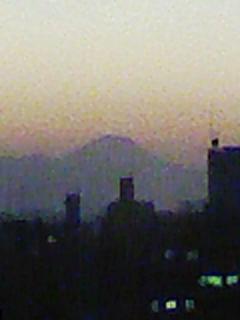都庁からの富士山
