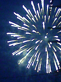 蓮華寺の花火